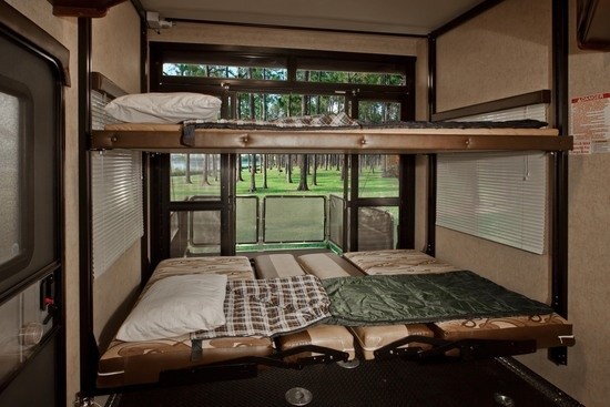 Perfect 2nd Bedroom For The Kids Or Guests Cyclone Rv 5th Wheel By Heartland Rvs Cyclone