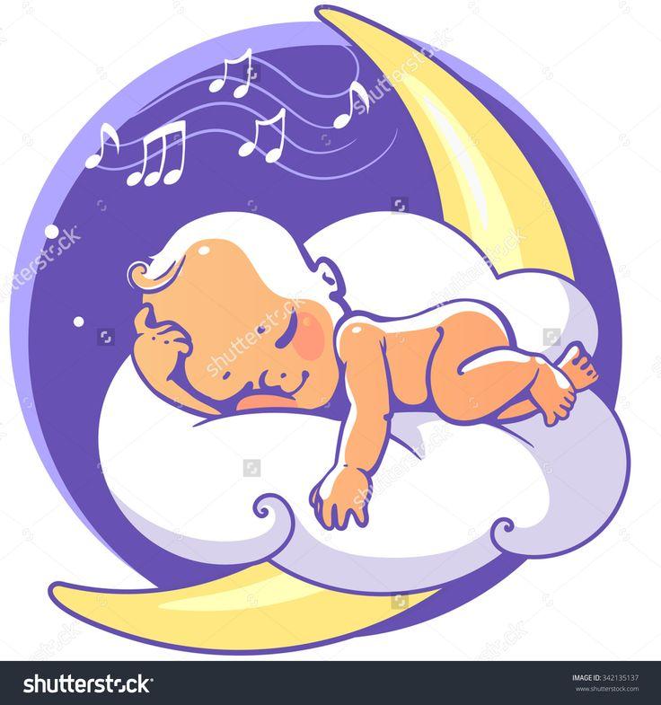 purple baby sleeping cartoon character - Google Search