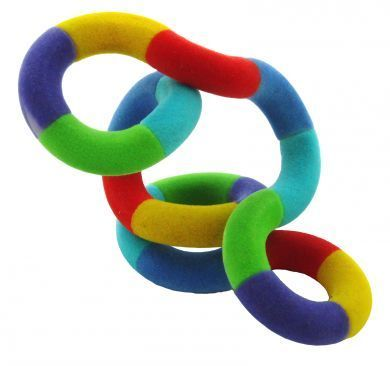 These Tangle fiddle toys are a fantastic aid for training workshops and classrooms to assist with accelerated learning.   They work really well as table toppers in creative meetings or as a stopping smoking fidget toy.  Tangles are great for children and adults alike who suffer from ADHD or autism; they're a great sensory toy to focus the mind.