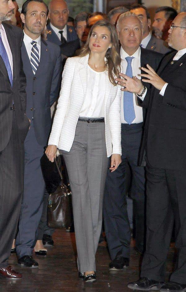 HRH Princess Letizia of Spain in California 11/13/2013