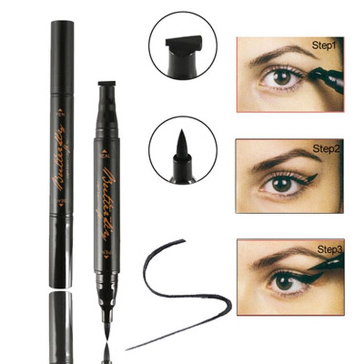 Eyeliner Stamp, Waterproof Eye Liquid Eyeliner Pen Easy to Makeup Tool Cat Eye Wing Eyeliner Stamps Set. For Waterproof Eyeliner .For easy makeup .For Office workers, beauty girls girls. Give yourself and friends the best gift. Create the natural and perfect eyeliner shape. Easy to draw the eyeliner. Use Way - After soaking the stamp in liner, you simply line up where you want wing and press onto your skin.