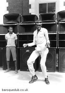 sound system dancer