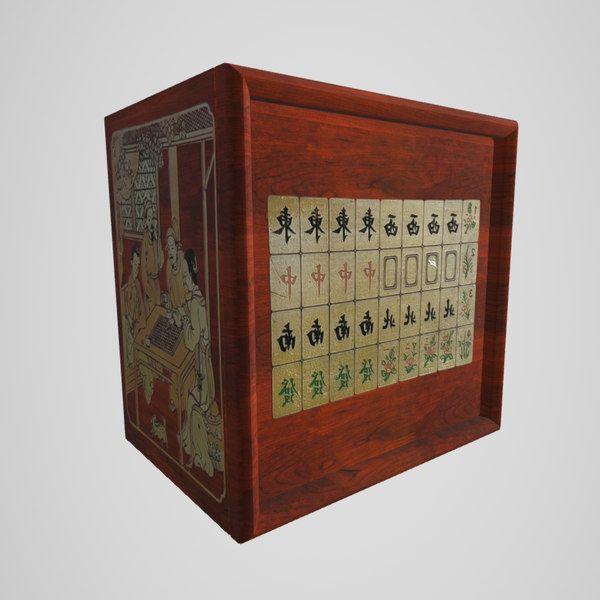 3D Mahjong Set - 3D Model