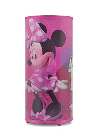 Disney Minnie Maus Zylinder Lampe. Minnie Mouse Designs erzeugt eine ...