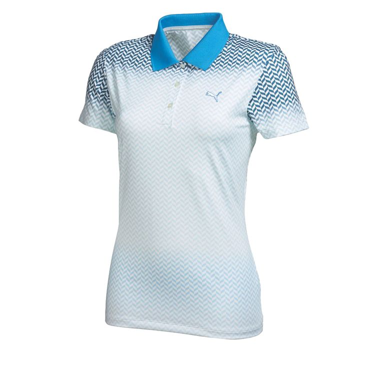 Women's Chevron Fade Polo Golf Shirt | PUMA Golf