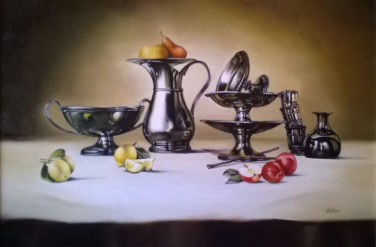 Still life N 216, Oil Painting, 50x70 cm, 2010