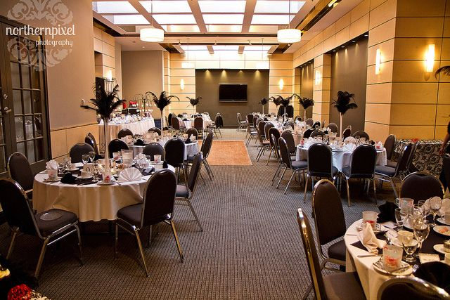wedding reception room set up examples | Skylight Room Wedding Reception - Ramada Prince George - a photo on ...