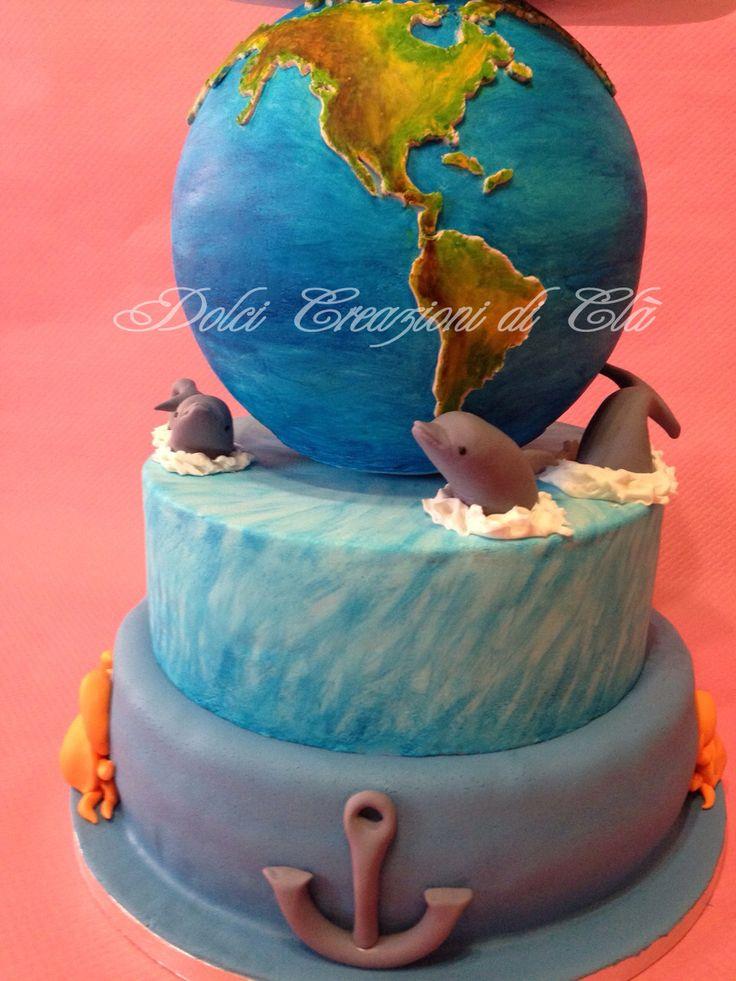 Torta mappamondo