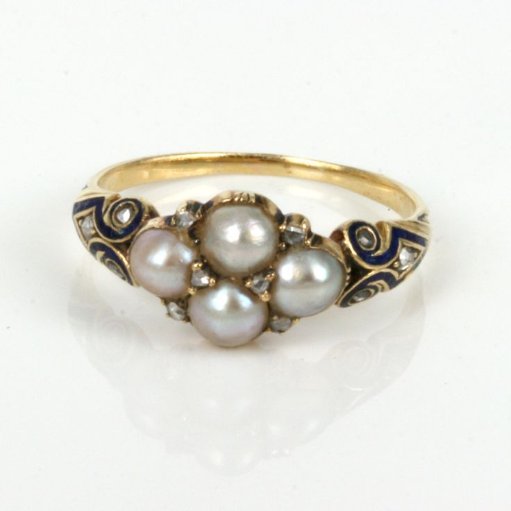 antique pearl rings buy antique pearl and ring
