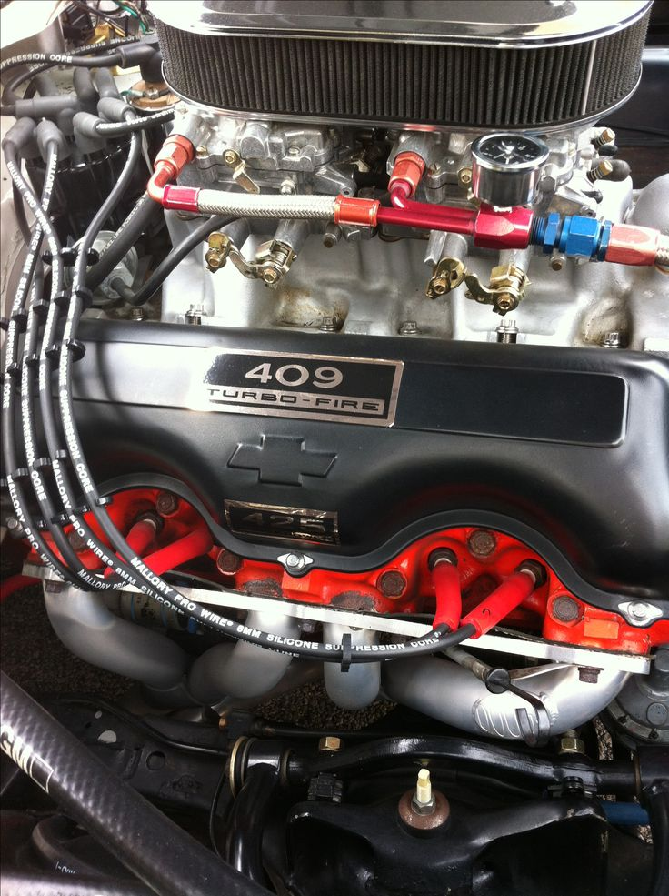Chevy 409 Air Cleaner : A speed dual quad posi traction quot engines