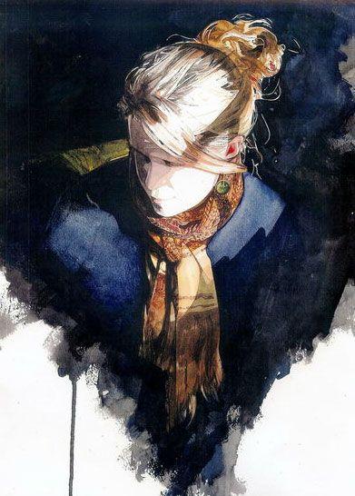 Amazing portrait painting