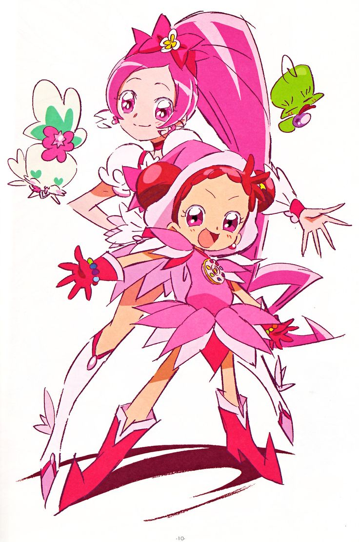Heartcatch! Pretty Cure X Ojamajo Doremi