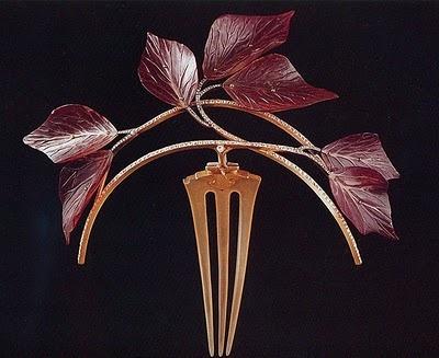 Rene Lalique Hair Comb