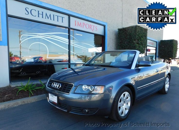 nice Awesome 2005 Audi A4 2005 2dr Cabriolet 3.0L quattro 2005 Audi A4 quattro convertible, super low miles, 3.0L V6 engine, Clean! 2017 2018 Check more at http://24carshop.com/product/awesome-2005-audi-a4-2005-2dr-cabriolet-3-0l-quattro-2005-audi-a4-quattro-convertible-super-low-miles-3-0l-v6-engine-clean-2017-2018/