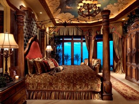 Mediterranean design - Master Bedroom -  Simmons and Saray Interiors -