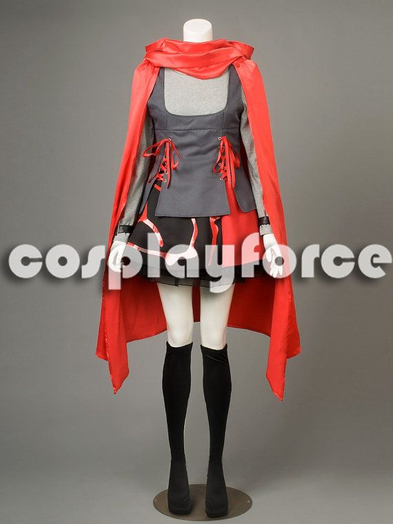 RWBY Season 2 RWBY-Red Trailer Ruby Rose Cosplay by cosplayforce