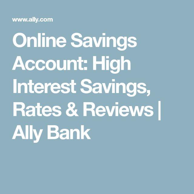 Best  Savings Account Rates Ideas On   Savings