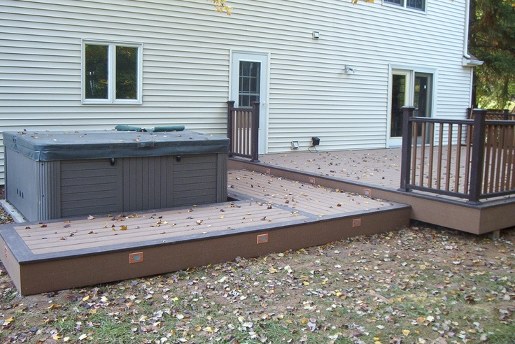 Hot Tub Deck  Patio Ideas  Pinterest  Hot Tub Deck. Contemporary Deck Patio Ideas. Building Patio On Clay. Cottage Patio Garden Ideas. Best Patio Home Designs. Blue Plastic Patio Table. Cheap Quality Patio Furniture. Patio Furniture Stores On Cape Cod. Cost Of Adding A Patio