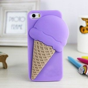 Funny & Lovely iPhone 5/5S Ice Cream Case, also for galaxy s3, s4