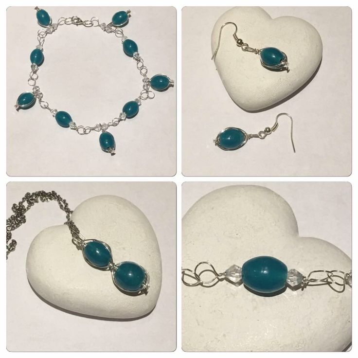 A personal favourite from my Etsy shop https://www.etsy.com/uk/listing/559238921/teal-necklace-jewellery-set-matching