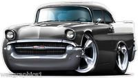 Stickers 1957 Chevy 150 Special Wall Decor Garage Graphics Boys Room Man Caves