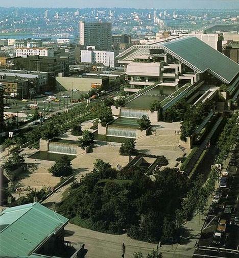 Arthur Erickson designed. Vancouver Law Courts building.