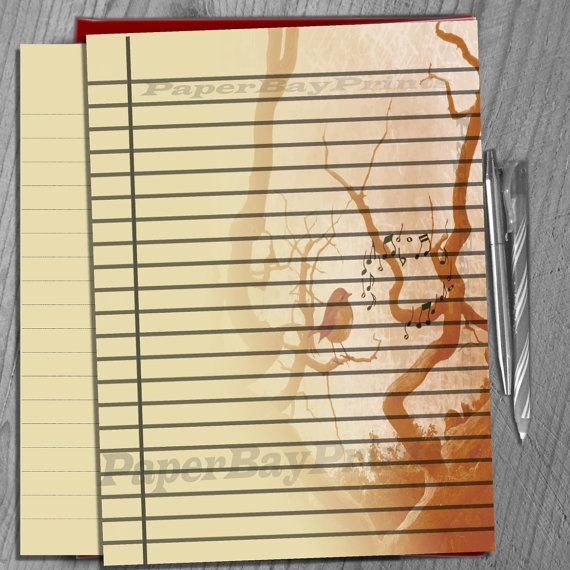 21 best Stationery images on Pinterest Contact paper, Craft - lined notebook paper template