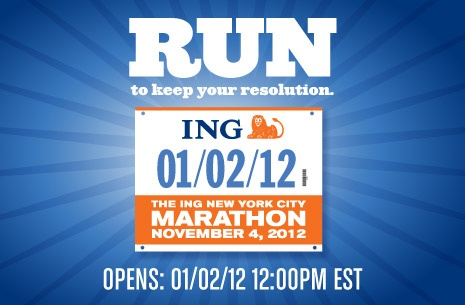 NYC ING Marathon - would love to do this one day