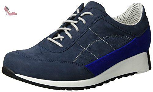 Waldläufer  Haleria, Chaussures à lacets femme - multicolore - Mehrfarbig (marine electr. Weiss), 38 EU - Chaussures waldlufer (*Partner-Link)