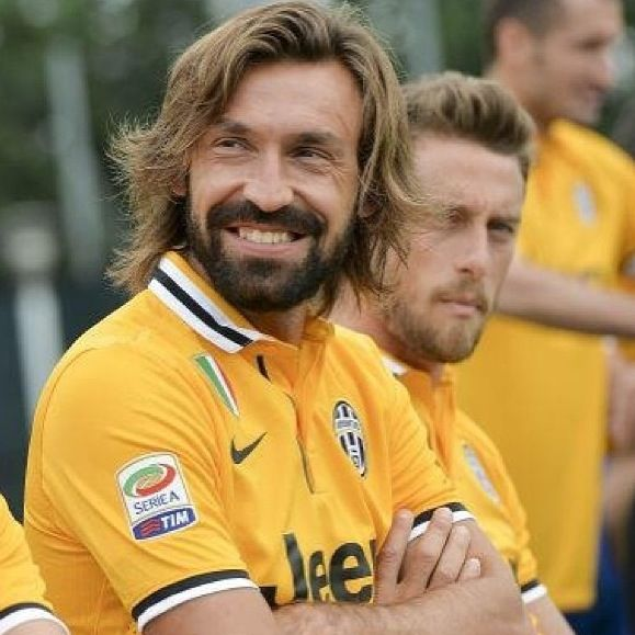 Pirlo and Marchisio  Juventus