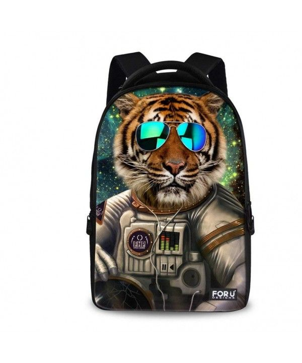 5cce1a6ede Wolf Tiger Panda Bear Print Animal Backpack for Teens - tiger B ...