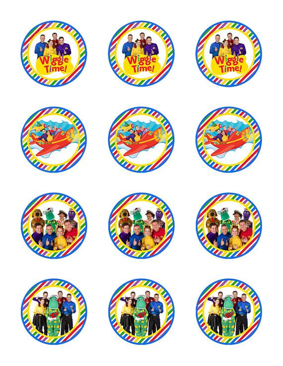 113 Best Images About Wiggles Party On Pinterest Second
