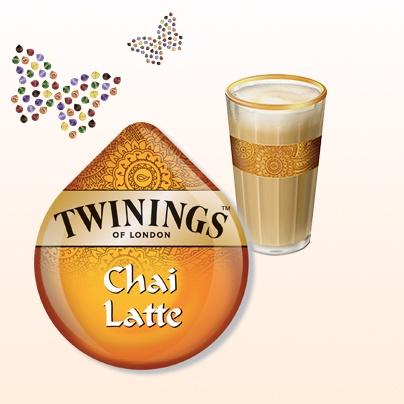Twinings Chai Latte #Tassimo #TDISC #Twinings #chai #latte