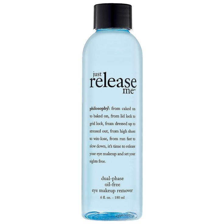 Just Release Me™ Dual-Phase Oil-Free Makeup Remover - philosophy | Sephora