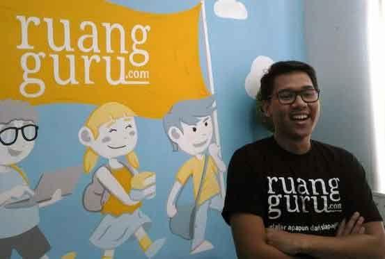Kisah Sukses Iman Usman Pendiri Ruangguru.com