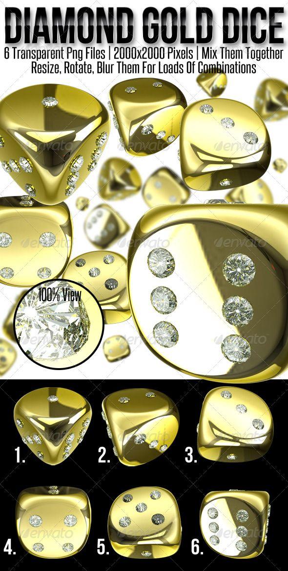 Diamond Gold Dice Menu template, Dice and Magazine covers - dice resume