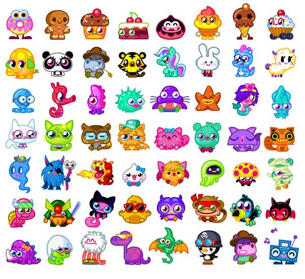 All+Moshling+Pictures+And+Names | new moshlings - Moshi Monsters