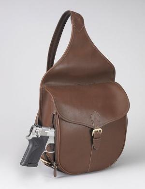 Gun Purse: Leather