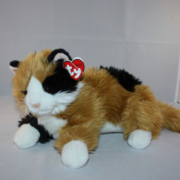 2000 Ty Classic Carley The Calico Cat Stuffed Plush Cats