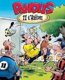 """Pondus """"11 i Hatten"""" av Frode Øverli (Innbundet)"""