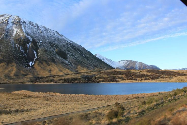 Mountains and lakes. Transalpine. NZ.