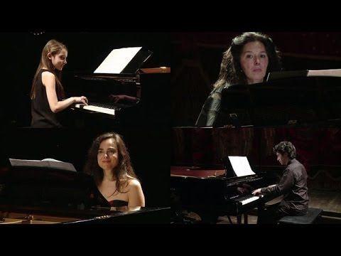 concierto para 4 pianos [Eng sub] (Karin Lechner, Natasha Binder, Lyl Tiempo, Sergio Tiempo) - YouTube