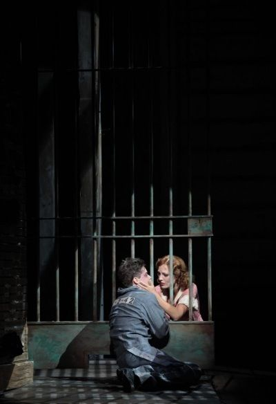 Laura Osnes & Jeremy Jordan in Bonnie & Clyde
