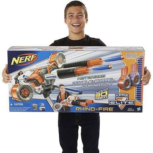 Nerf Rhino Fire Blaster Gun N-Strike Elite Series Kids Toy Game Christmas Gift #NerfElite