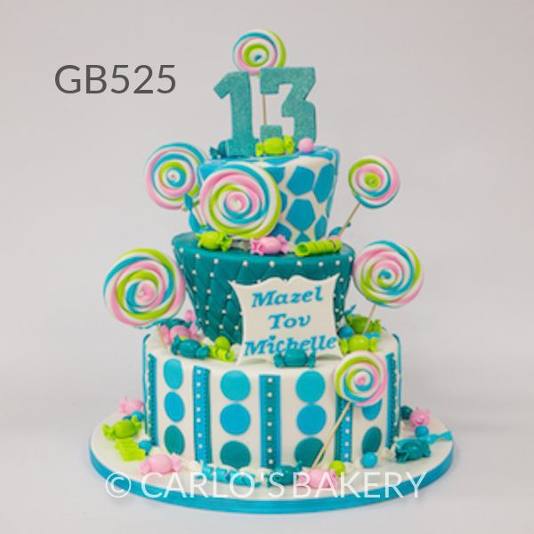 Best 377 Girls Cakes 6 14 Ages Ideas On Pinterest Anniversary