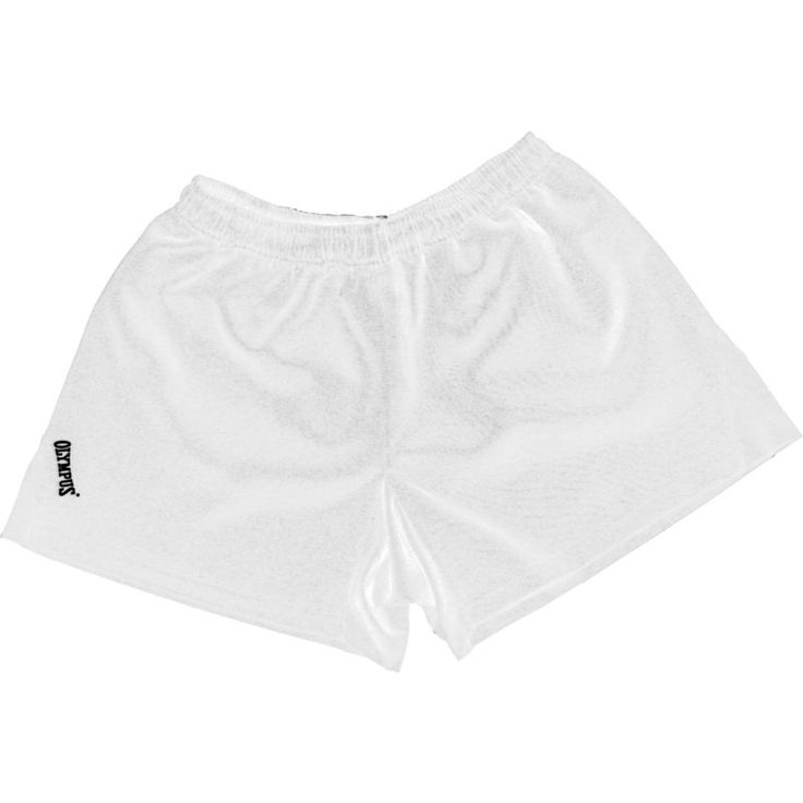 Olympus Youth Dominator Rugby Shorts, Size: Medium, White