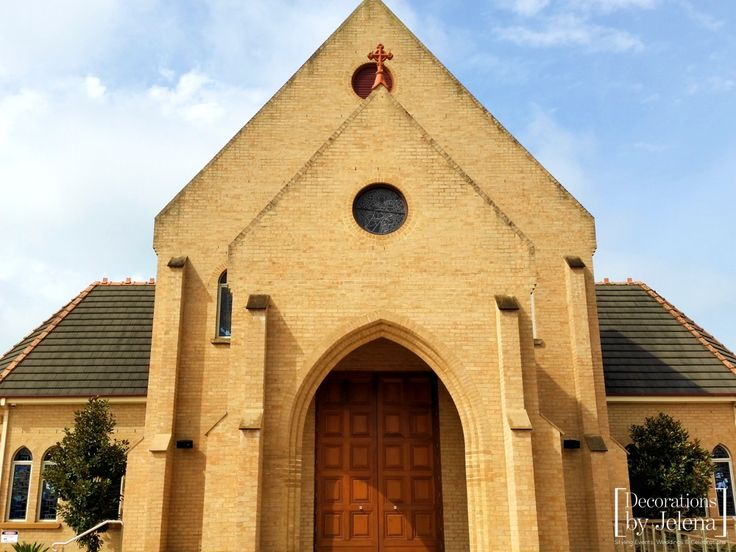 Beautiful location for Wedding Ceremony - one of our favourites is Our Lady of Victories in New South Wales. Decorations by Jelena, Sydney Australia info@decorationsbyjelena.com.au