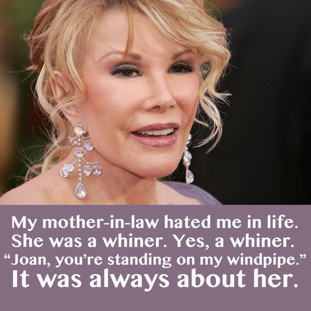 27 Of The Most Memorable Joan Rivers Jokes