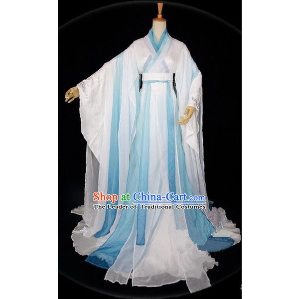 Traditional Asian Chinese Ancient Palace Princess Costume, Elegant... ($479) ❤ liked on Polyvore featuring costumes, cosplay costumes, princess costumes, womens fairy costume, womens princess costume and fairy princess costume