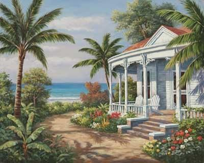 Summer House II by Sung Kim posters & art prints at PictureStore
